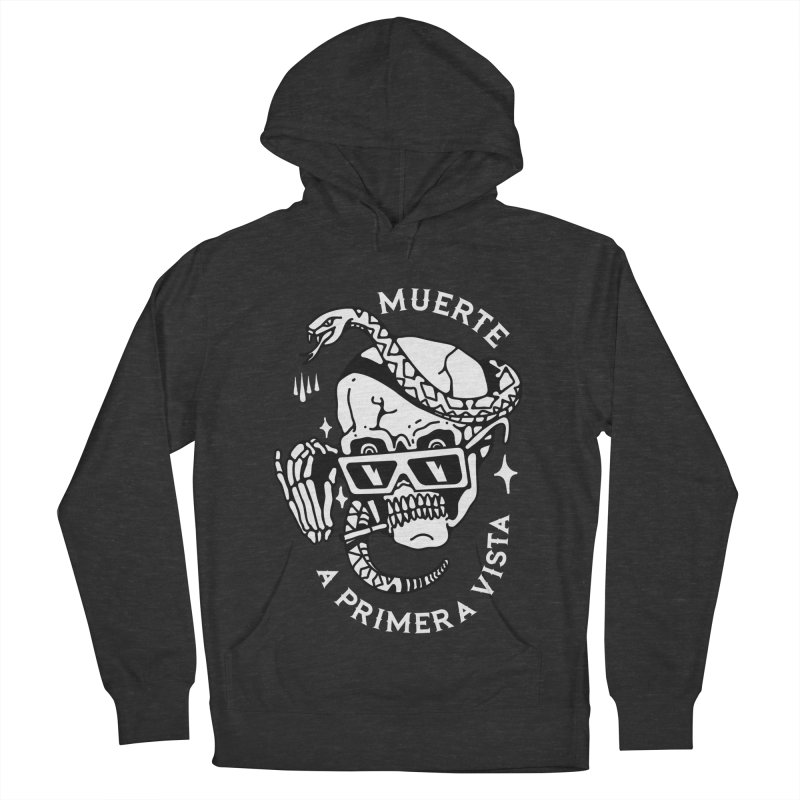 DEATH AT FIRST SIGHT Men's Pullover Hoody by Mico Jones Artist Shop