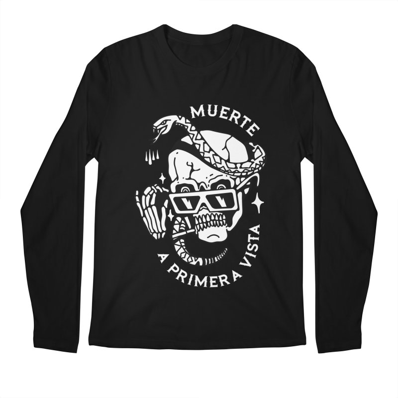 DEATH AT FIRST SIGHT Men's Longsleeve T-Shirt by Mico Jones Artist Shop