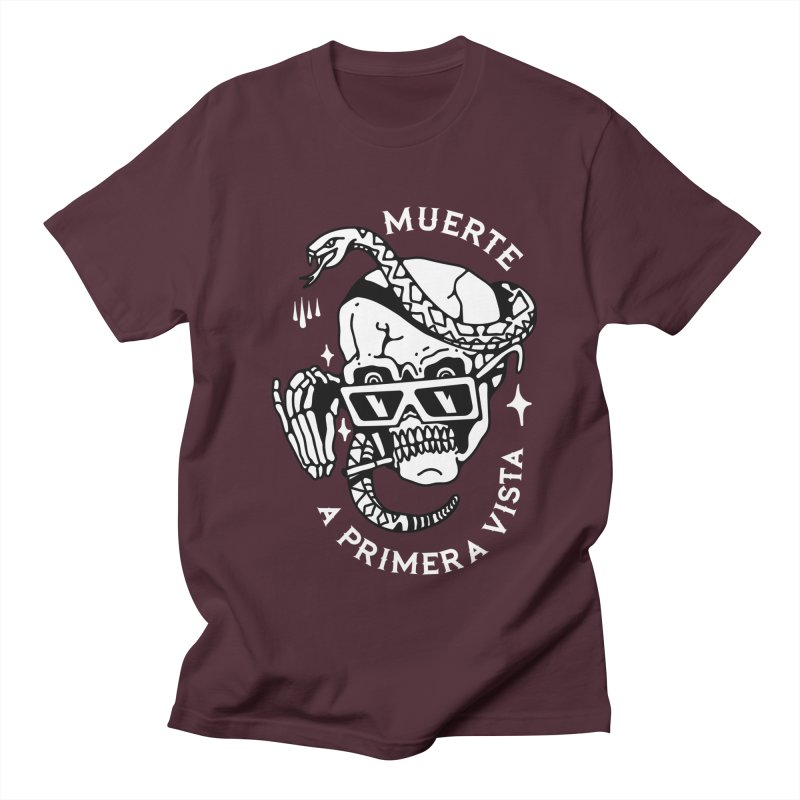 DEATH AT FIRST SIGHT Men's T-Shirt by Mico Jones Artist Shop