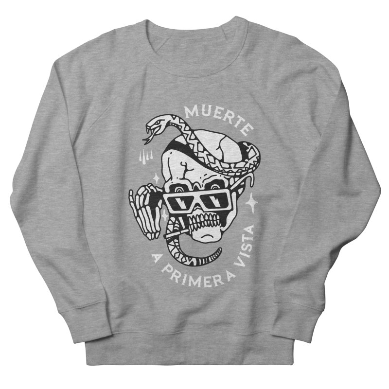 DEATH AT FIRST SIGHT Men's Sweatshirt by Mico Jones Artist Shop