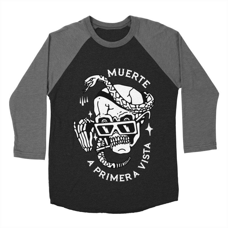 DEATH AT FIRST SIGHT Women's Baseball Triblend T-Shirt by Mico Jones Artist Shop