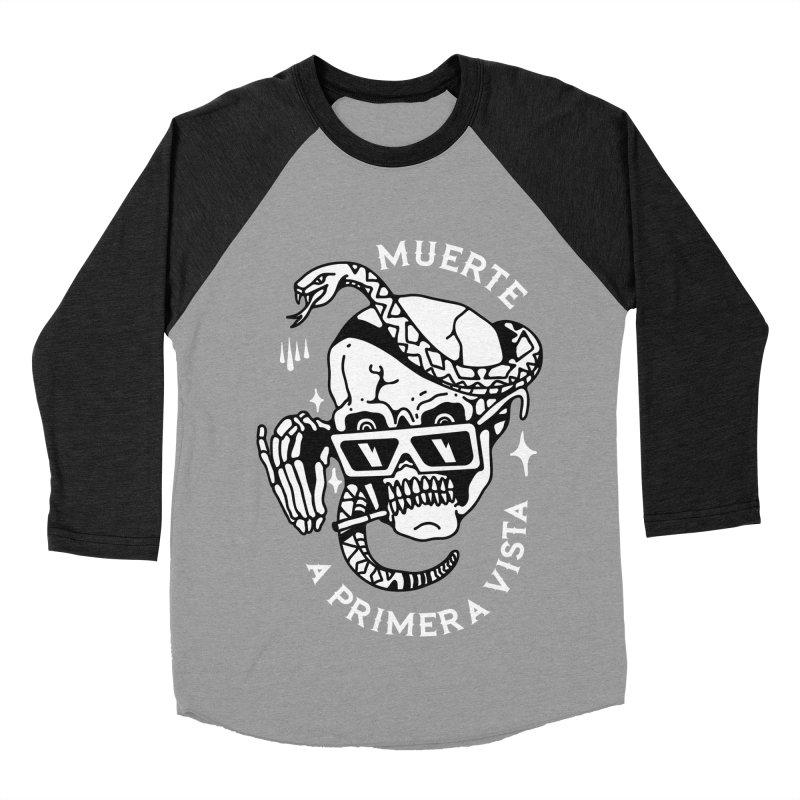 DEATH AT FIRST SIGHT Men's Baseball Triblend T-Shirt by Mico Jones Artist Shop