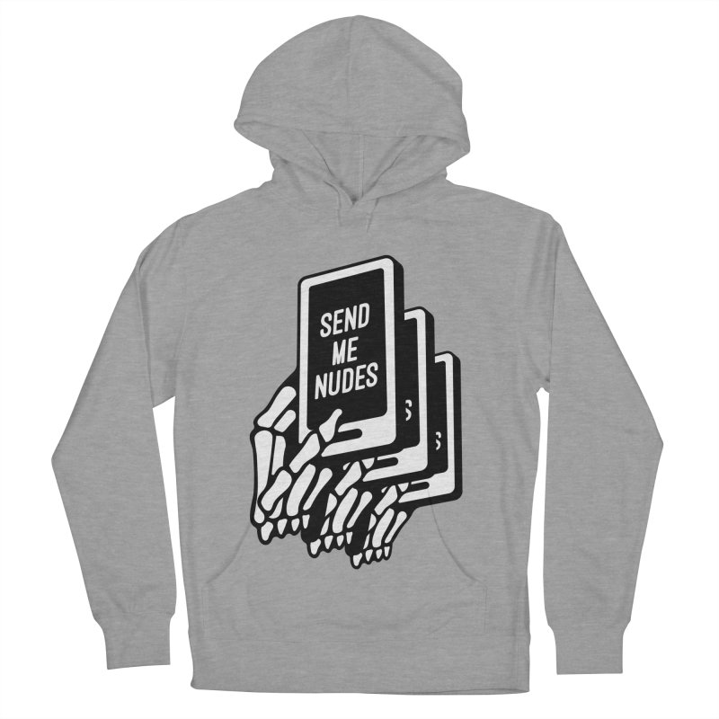 SEND ME NUDES INTERLUDE Men's French Terry Pullover Hoody by Mico Jones Artist Shop