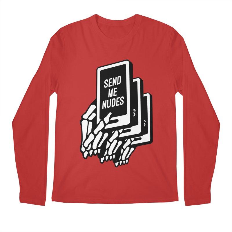 SEND ME NUDES INTERLUDE Men's Longsleeve T-Shirt by Mico Jones Artist Shop