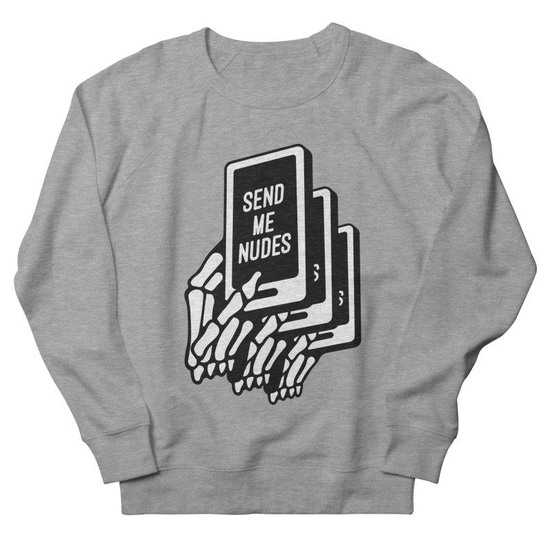SEND ME NUDES INTERLUDE Women's Sweatshirt by Mico Jones Artist Shop