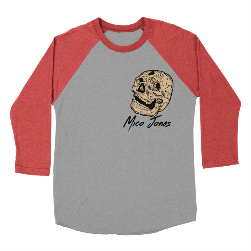 DEAD Men's Baseball Triblend T-Shirt by Mico Jones Artist Shop