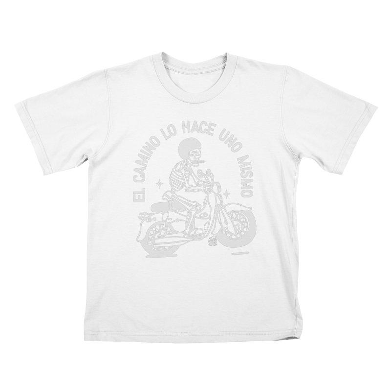 EL CAMINO Kids T-Shirt by Mico Jones Artist Shop