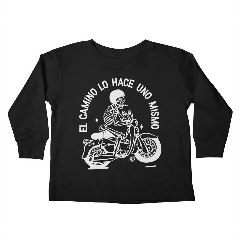 EL CAMINO Kids Toddler Longsleeve T-Shirt by Mico Jones Artist Shop