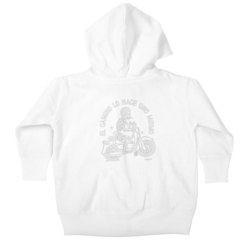 EL CAMINO Kids Baby Zip-Up Hoody by Mico Jones Artist Shop