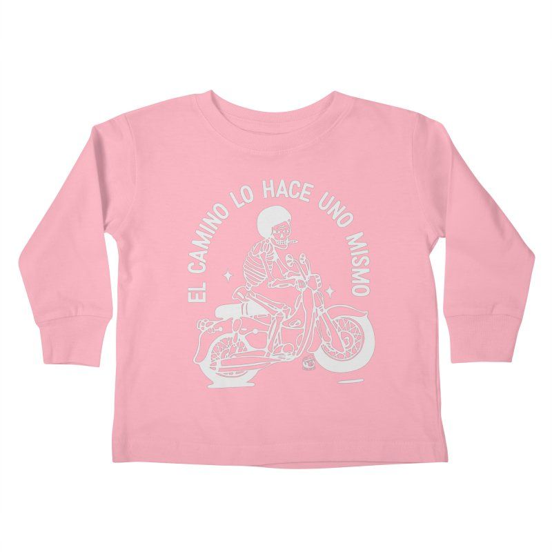 EL CAMINO Kids Toddler Longsleeve T-Shirt by Mico Jones Artist Shop