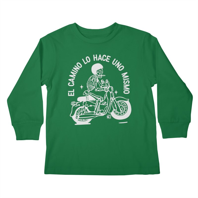 EL CAMINO Kids Longsleeve T-Shirt by Mico Jones Artist Shop