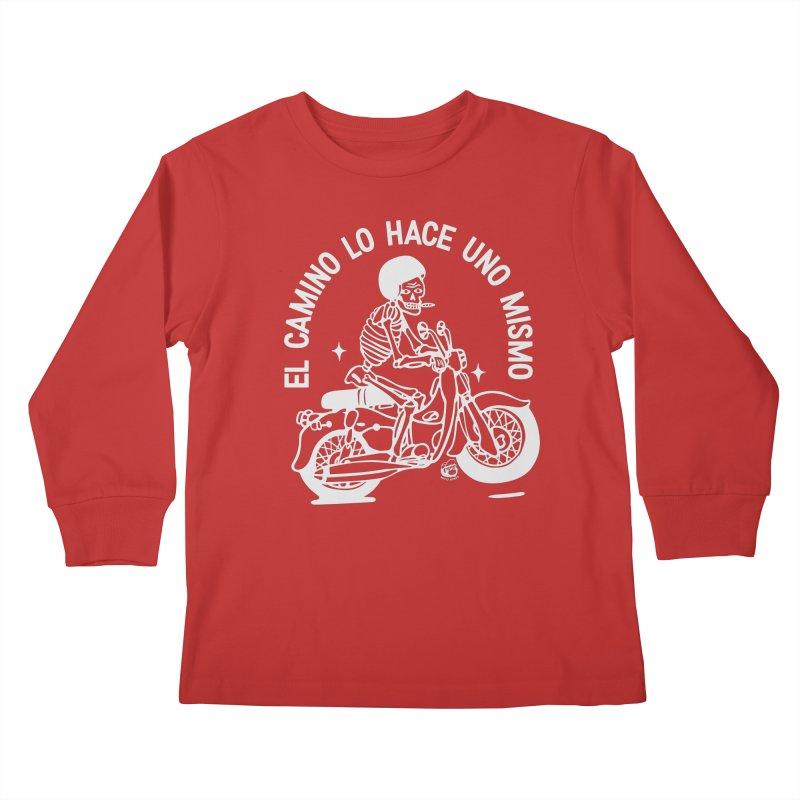 EL CAMINO Kids Longsleeve T-Shirt by Mico Jones Artist Shop