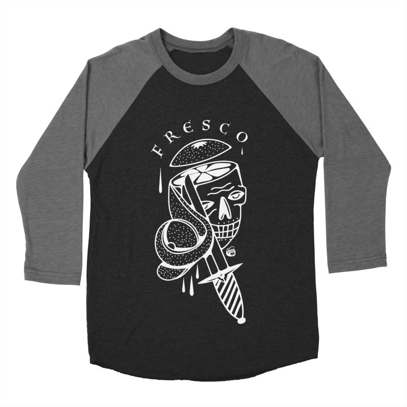BLACKFRESCO Women's Baseball Triblend Longsleeve T-Shirt by Mico Jones Artist Shop
