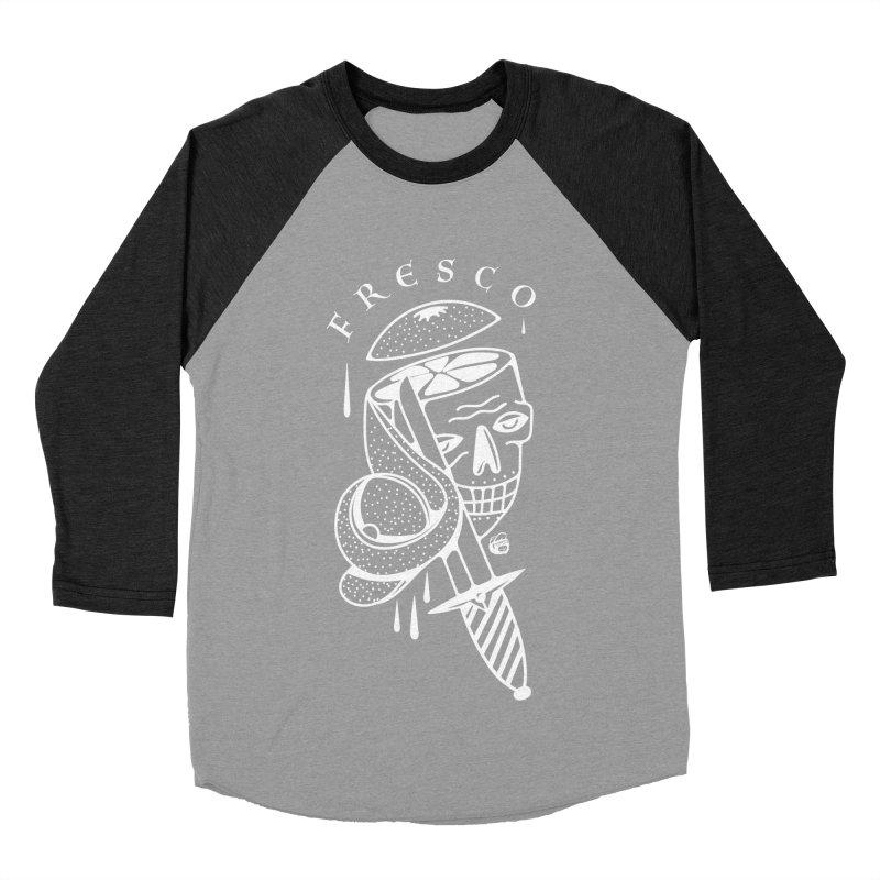 BLACKFRESCO Women's Baseball Triblend Longsleeve T-Shirt by Mico Jones Artist Shop