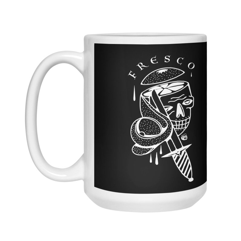 BLACKFRESCO Accessories Mug by Mico Jones Artist Shop
