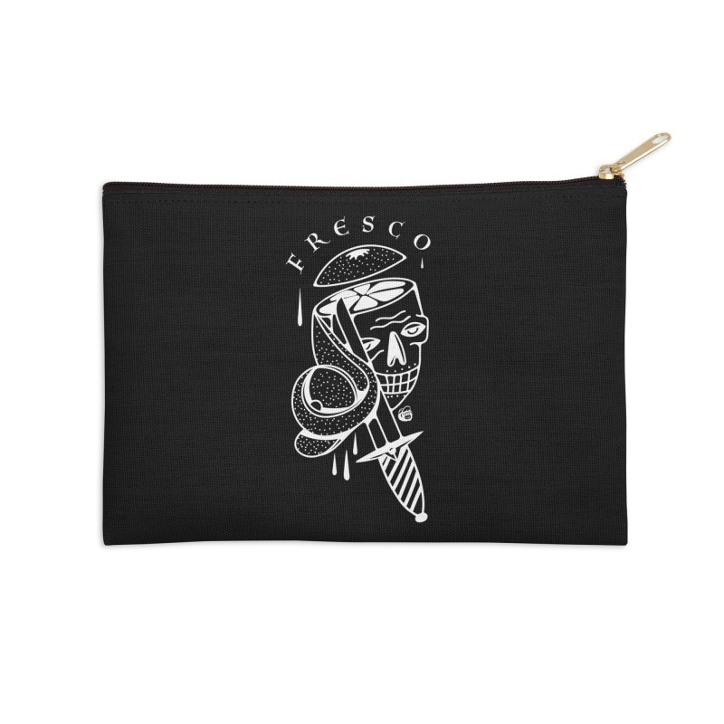 BLACKFRESCO Accessories Zip Pouch by Mico Jones Artist Shop