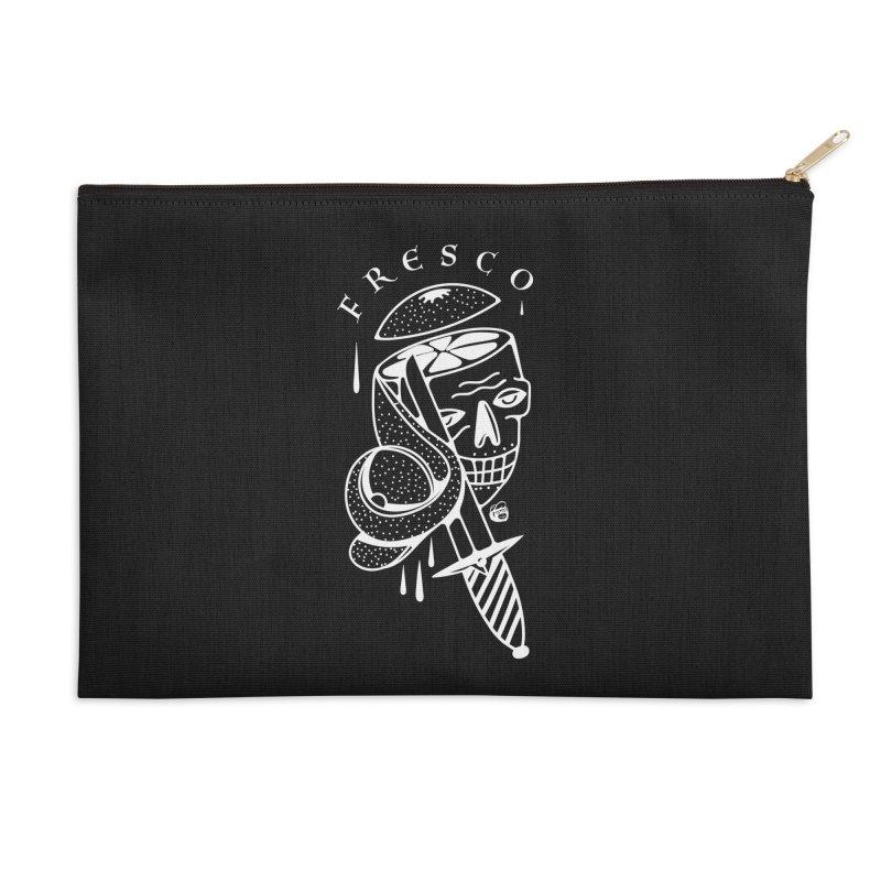 BLACKFRESCO Accessories Zip Pouch by Mico Jones Artist Shop