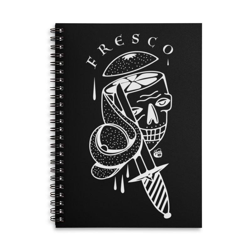 BLACKFRESCO Accessories Lined Spiral Notebook by Mico Jones Artist Shop