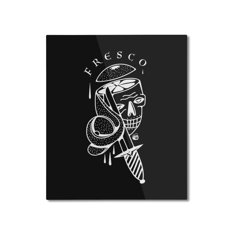 BLACKFRESCO Home Mounted Aluminum Print by Mico Jones Artist Shop