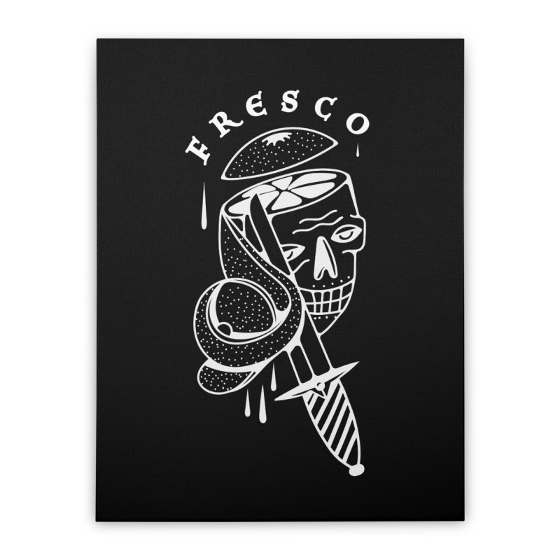 FRESCO Home Stretched Canvas by Mico Jones Artist Shop