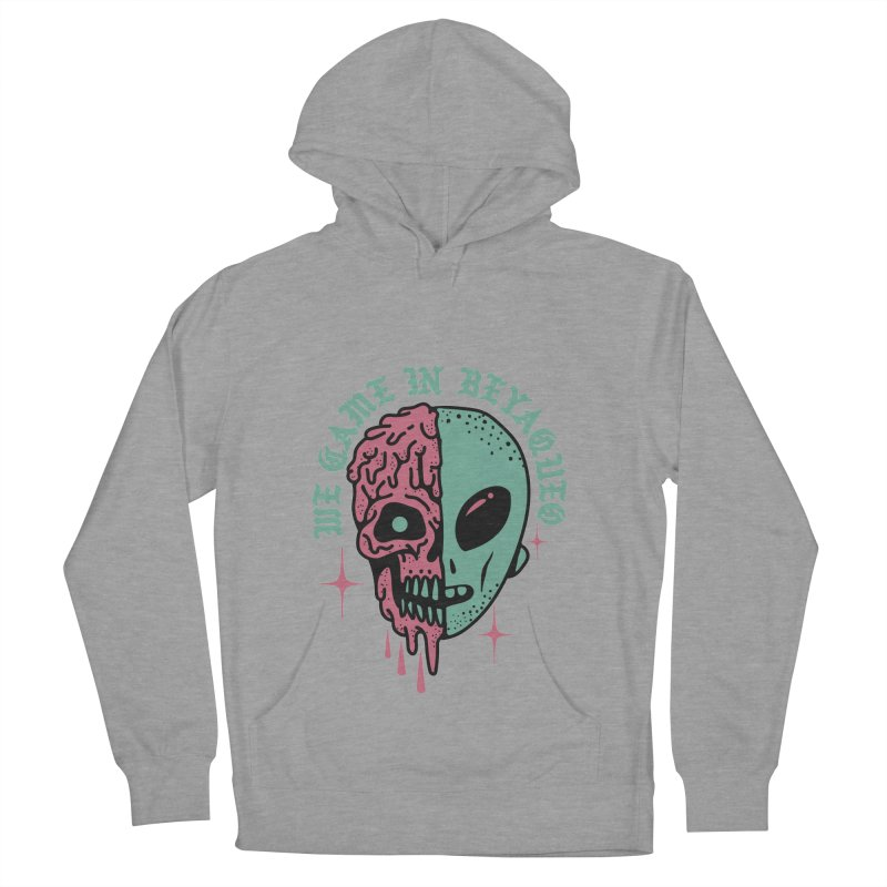 WE CAME IN BEYAQUEO Women's French Terry Pullover Hoody by Mico Jones Artist Shop