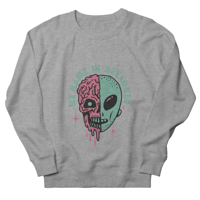WE CAME IN BEYAQUEO Men's French Terry Sweatshirt by Mico Jones Artist Shop