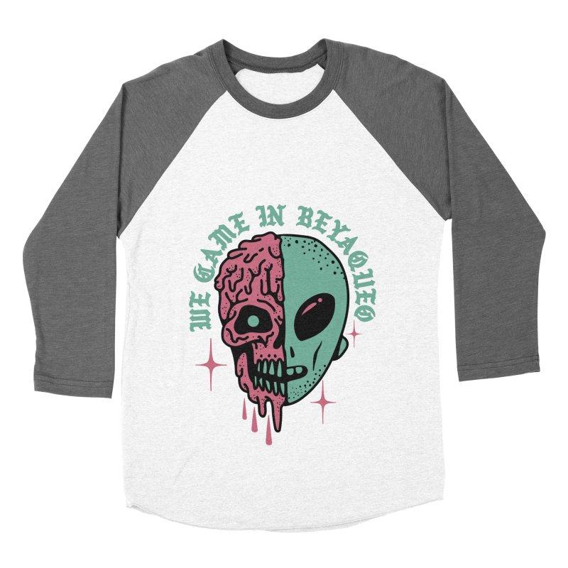 WE CAME IN BEYAQUEO Women's Baseball Triblend Longsleeve T-Shirt by Mico Jones Artist Shop