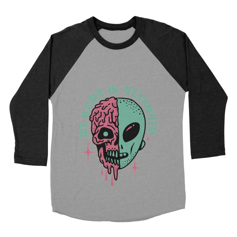 WE CAME IN BEYAQUEO Women's Baseball Triblend T-Shirt by Mico Jones Artist Shop
