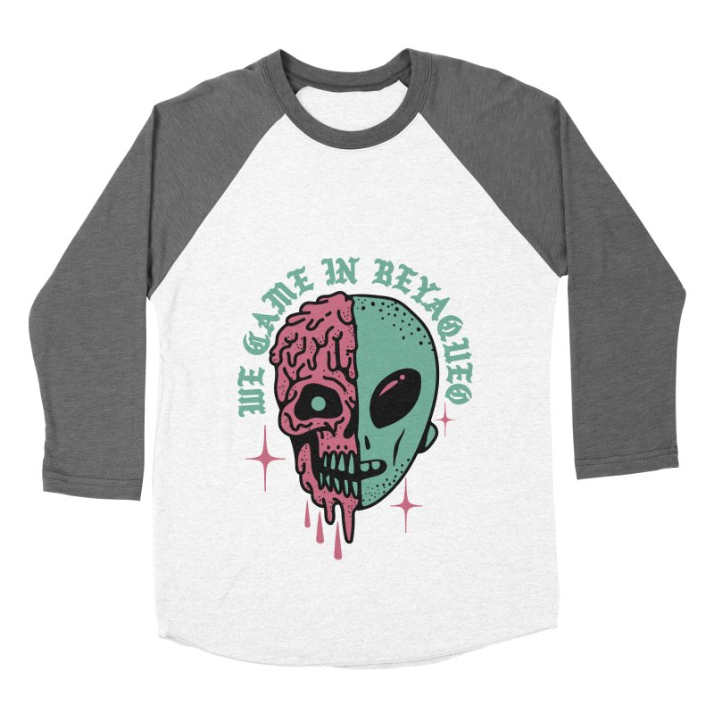 WE CAME IN BEYAQUEO Men's Baseball Triblend T-Shirt by Mico Jones Artist Shop
