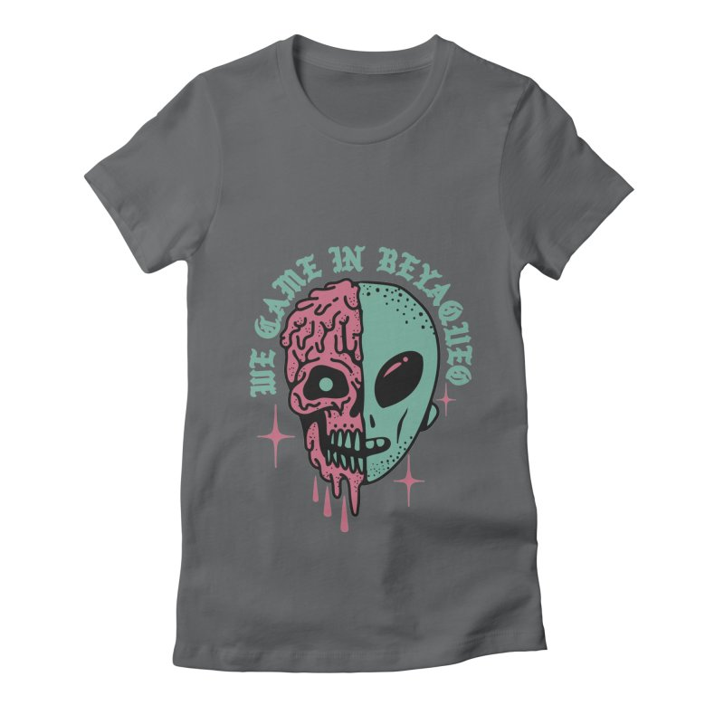 WE CAME IN BEYAQUEO Women's Fitted T-Shirt by Mico Jones Artist Shop