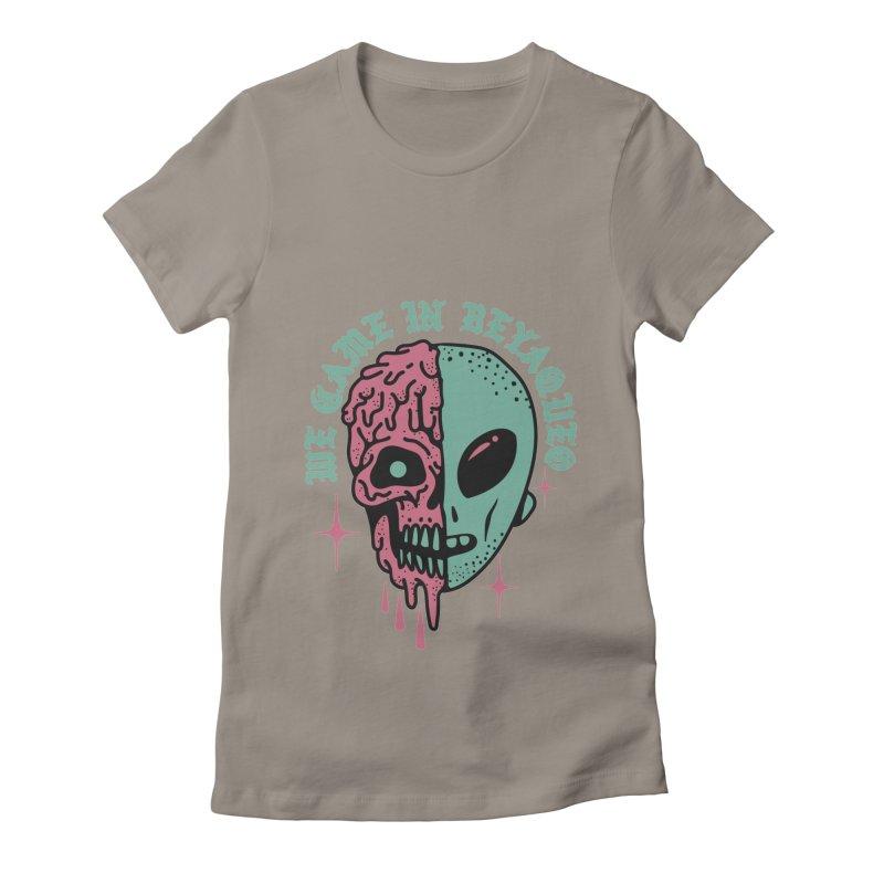 WE CAME IN BEYAQUEO Women's T-Shirt by Mico Jones Artist Shop