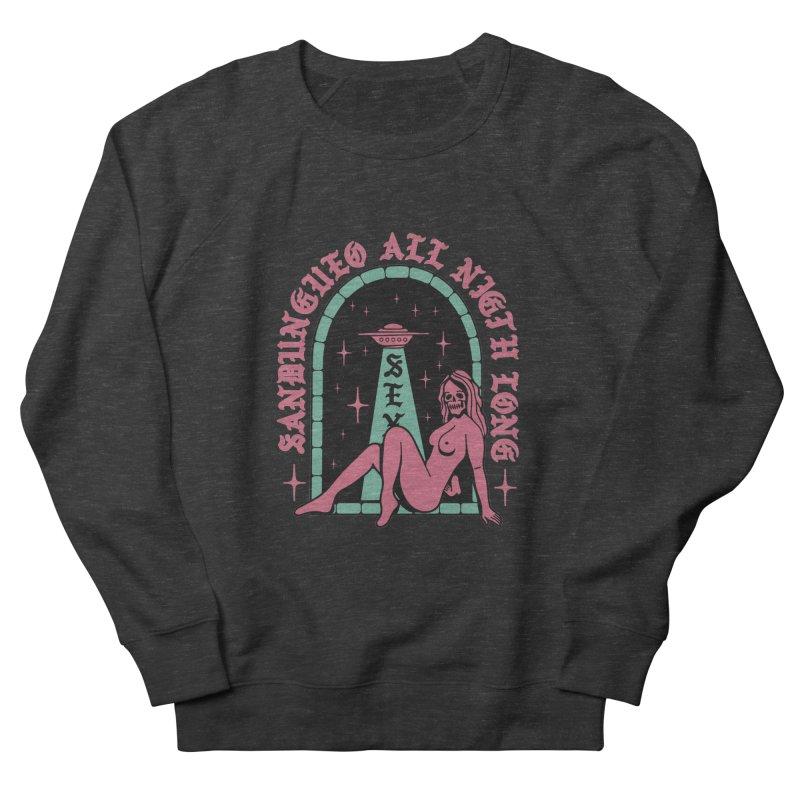SANDUNGUEO ALL NIGHT LONG Women's Sweatshirt by Mico Jones Artist Shop