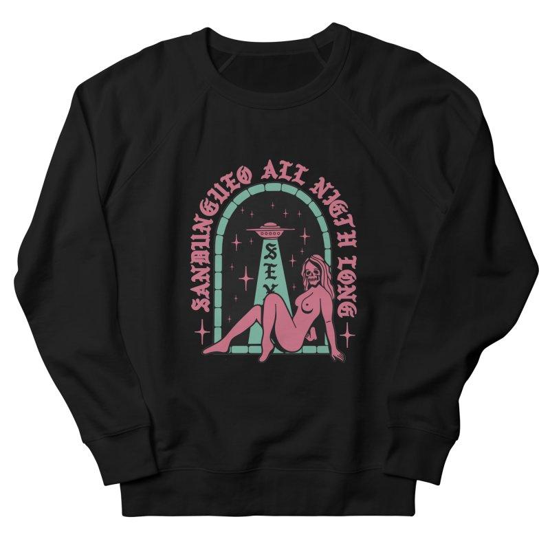SANDUNGUEO ALL NIGHT LONG Men's Sweatshirt by Mico Jones Artist Shop