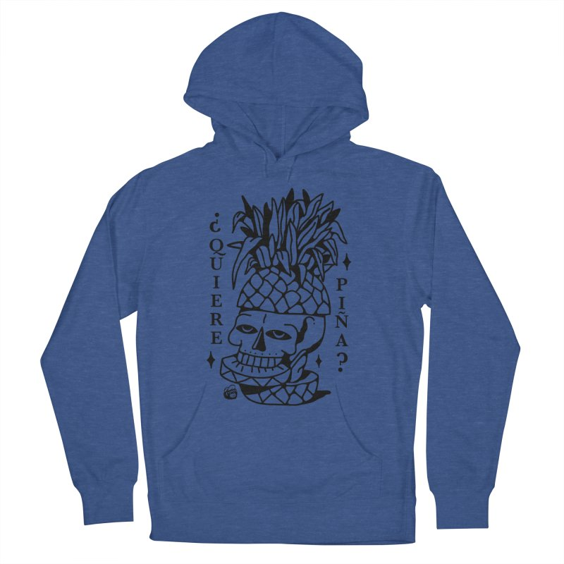 do you want pineapple Men's Pullover Hoody by Mico Jones Artist Shop