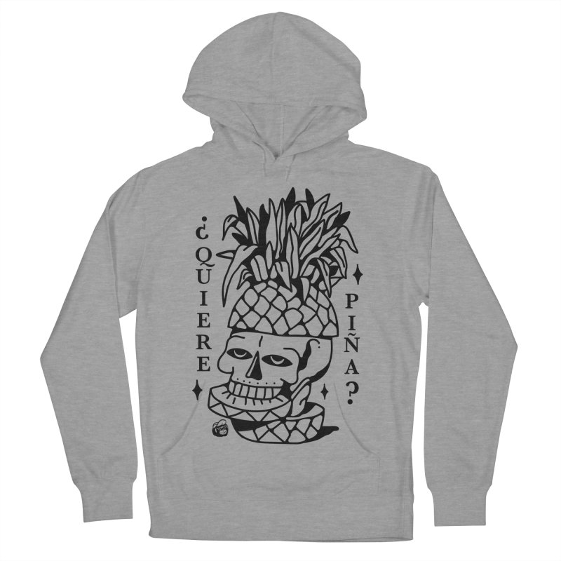 do you want pineapple Men's French Terry Pullover Hoody by Mico Jones Artist Shop