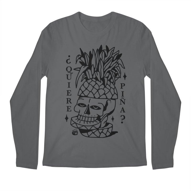 do you want pineapple Men's Longsleeve T-Shirt by Mico Jones Artist Shop