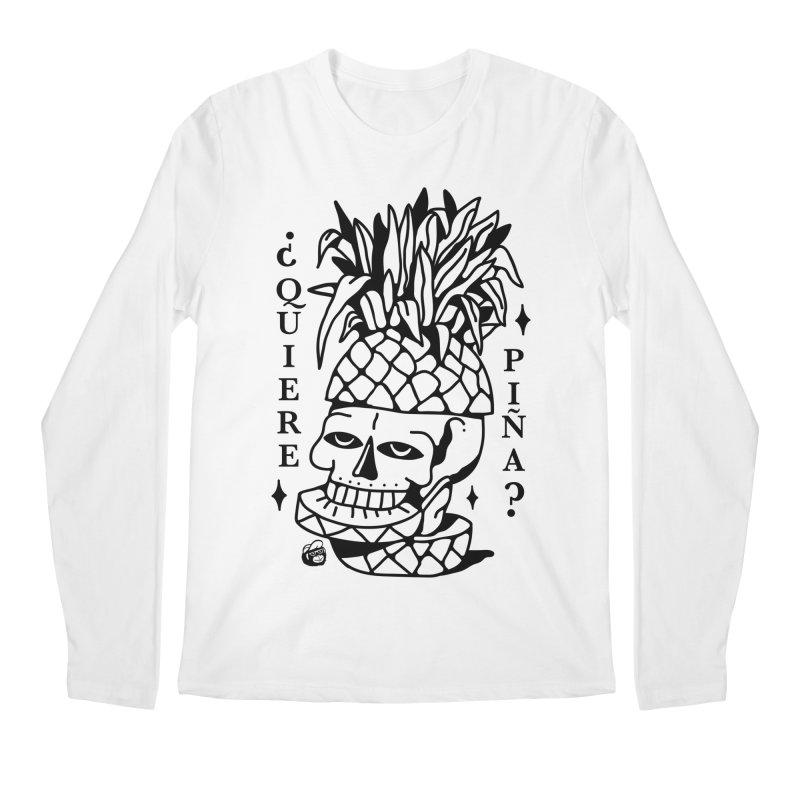 do you want pineapple Men's Regular Longsleeve T-Shirt by Mico Jones Artist Shop