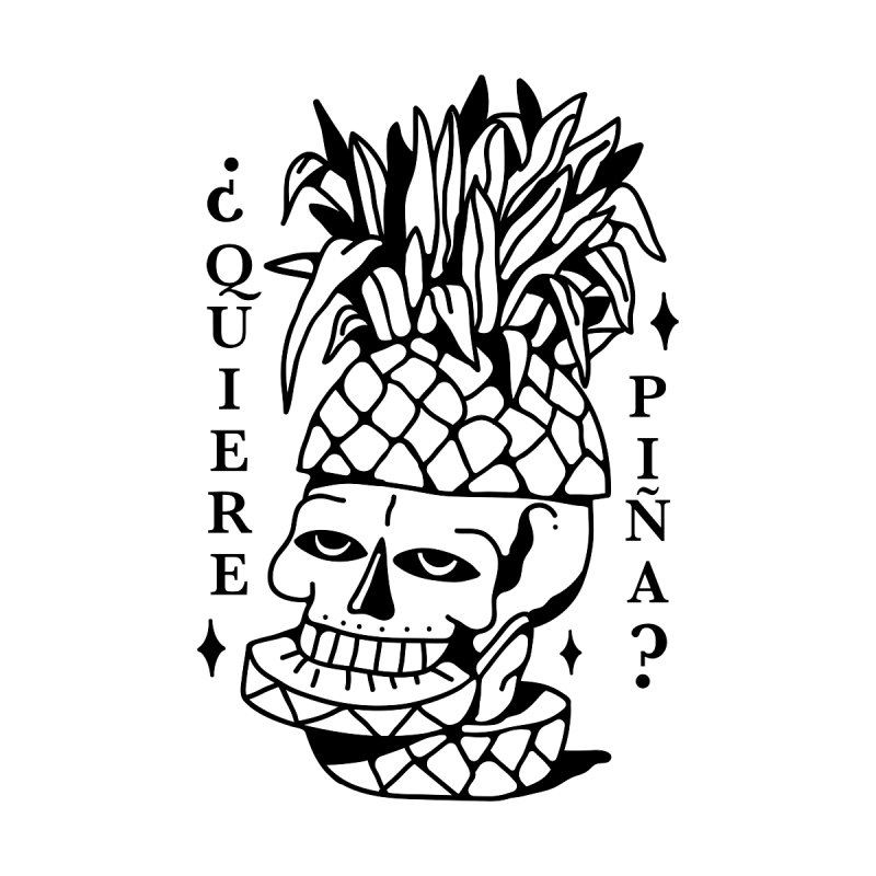do you want pineapple by Mico Jones Artist Shop