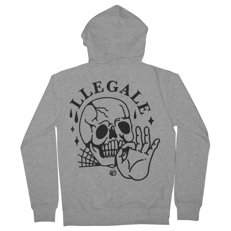 JOINT Women's French Terry Zip-Up Hoody by Mico Jones Artist Shop