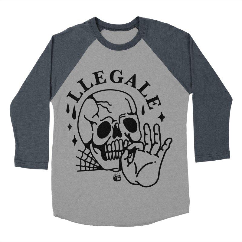 JOINT Women's Baseball Triblend Longsleeve T-Shirt by Mico Jones Artist Shop