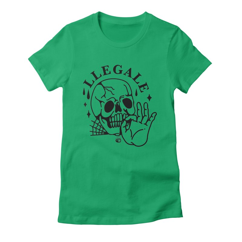 JOINT Women's Fitted T-Shirt by Mico Jones Artist Shop