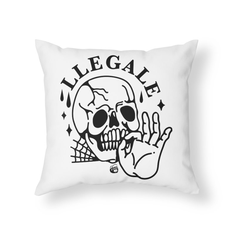 JOINT Home Throw Pillow by Mico Jones Artist Shop