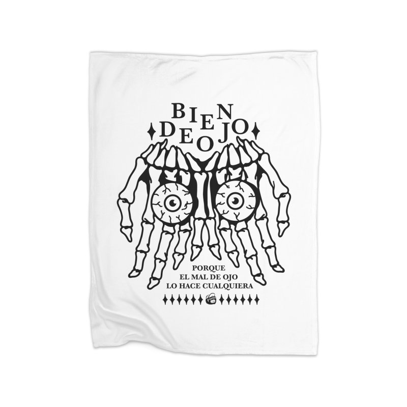 Bien de Ojo Home Fleece Blanket Blanket by Mico Jones Artist Shop