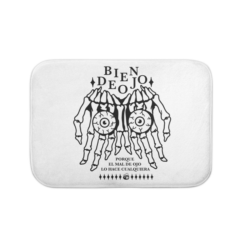 Bien de Ojo Home Bath Mat by Mico Jones Artist Shop