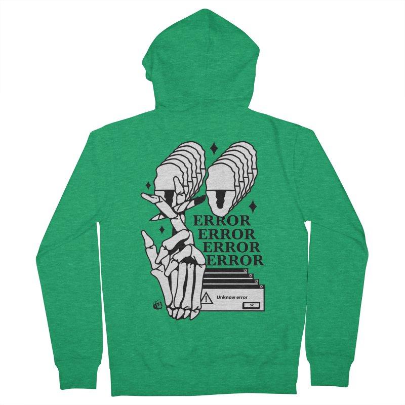 420 Men's French Terry Zip-Up Hoody by Mico Jones Artist Shop