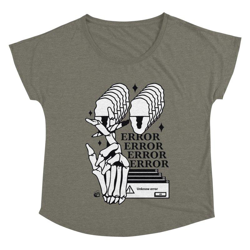 420 Women's Dolman Scoop Neck by Mico Jones Artist Shop