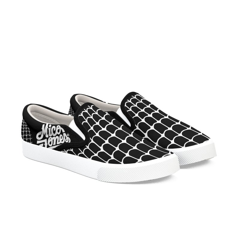 TE LLEVO Men's Slip-On Shoes by Mico Jones Artist Shop
