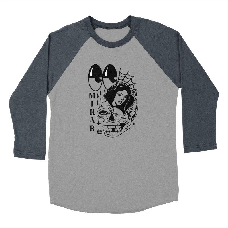 TE LLEVO Men's Baseball Triblend Longsleeve T-Shirt by Mico Jones Artist Shop