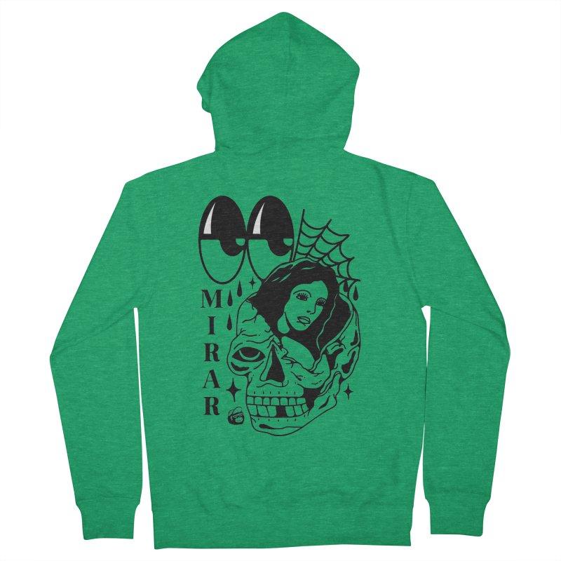 TE LLEVO Men's Zip-Up Hoody by Mico Jones Artist Shop