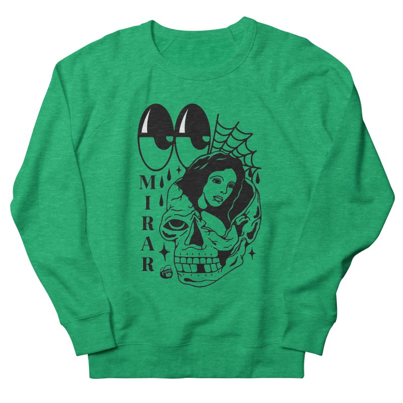 TE LLEVO Men's French Terry Sweatshirt by Mico Jones Artist Shop